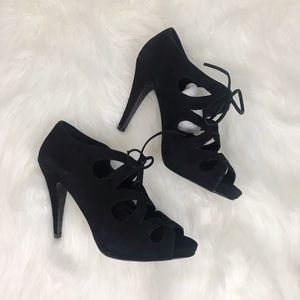 NWOT Aldo \\ peep-toe heels